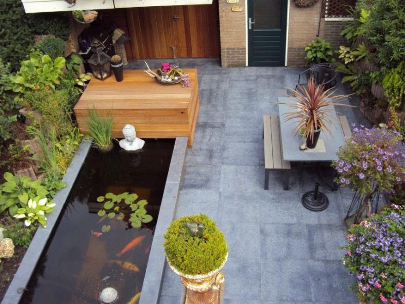 Voorbeeldtuinen Kleine Tuin : Tuinideeen en fotos voor tuinen tot m in almere lelystad huizen