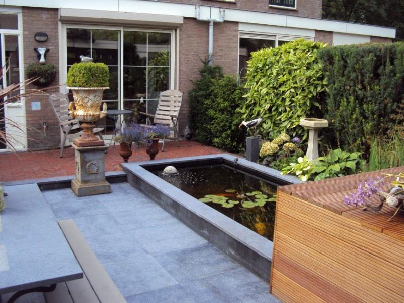 Idee kleine tuin met niveauverschil foto : Tuinideeen en fotos voor tuinen tot 100m2 in Almere Lelystad Huizen